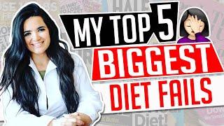 MY TOP 5 BIGGEST DIET FAILS │ Gauge Girl Training