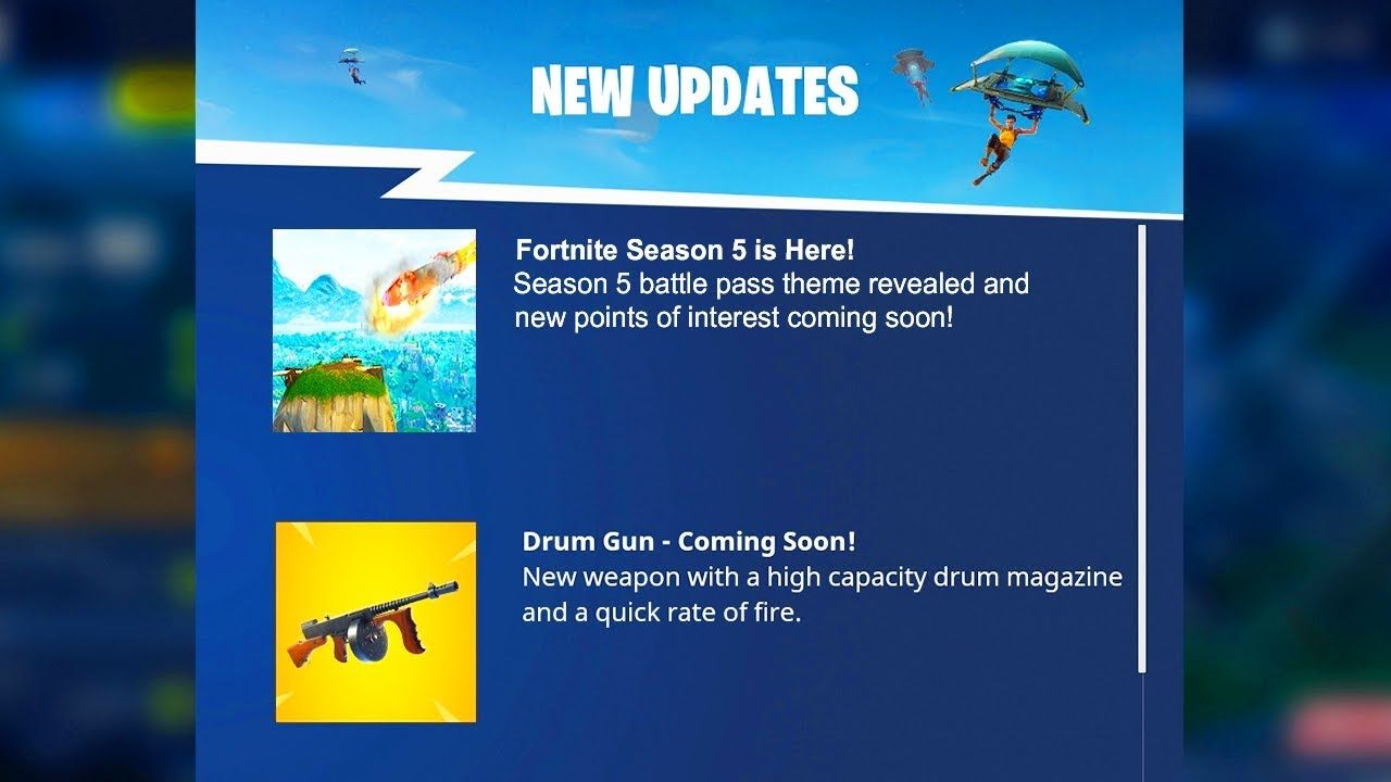 FORTNITE SEASON 5 THEME REVEALED! SEASON 5 BATTLE PASS TIME TRAVEL FORTNITE SEASON 5!