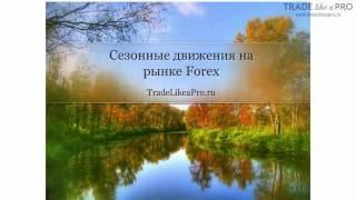 Сезонные движения на Forex
