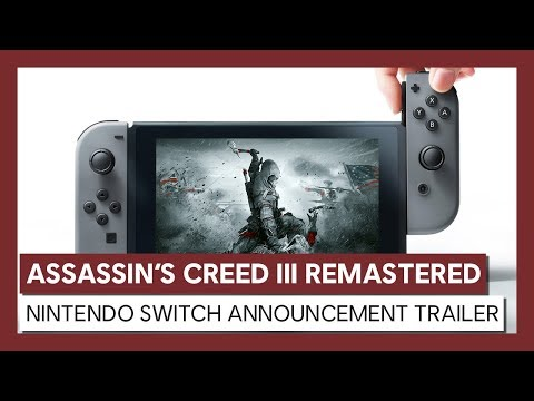 Assassin's Creed III Remastered: Nintendo Switch Announcement Trailer thumbnail