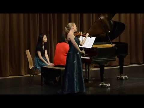 Maria Lott (Violine/Violin), Sontraud Speidel (Klavier/Piano)