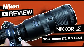 Nikon Z 70-200mm f/2.8 VR S - Hands-On Review and Sample Photos