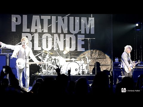Platinum Blonde Live CNE 2014 6  Great Hit Songs!