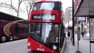 First Day of New Routemasters on London Bus Route 148- 15 February 2014