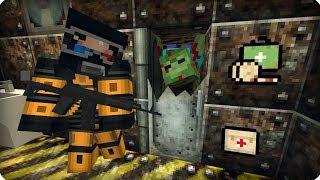 Бункер времен Второй Мировой [ЧАСТЬ 20] Зомби апокалипсис в майнкрафт! - (Minecraft - Сериал)