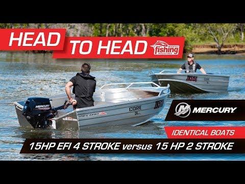 Tested | Mercury 15 HP EFI 4-stroke versus Mercury 15 HP 2