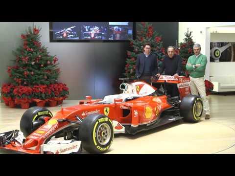Interview with Ferrari President Sergio Marchionne