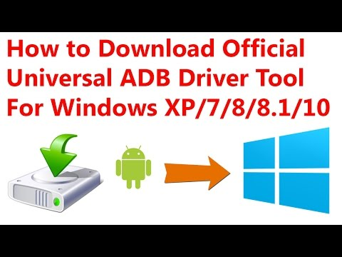 How To Download Official Universal ADB Driver Tool For Windows 7/8.1/10  !! CSTricknic !!