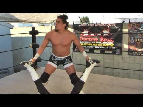 Wrestling Move: Figure Four Leg Lock