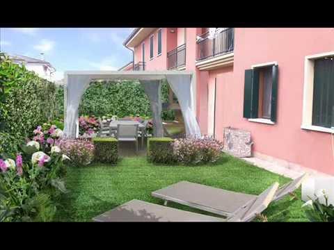 Il progetto di un piccolo giardino a padova youtube for Giardino piccolo