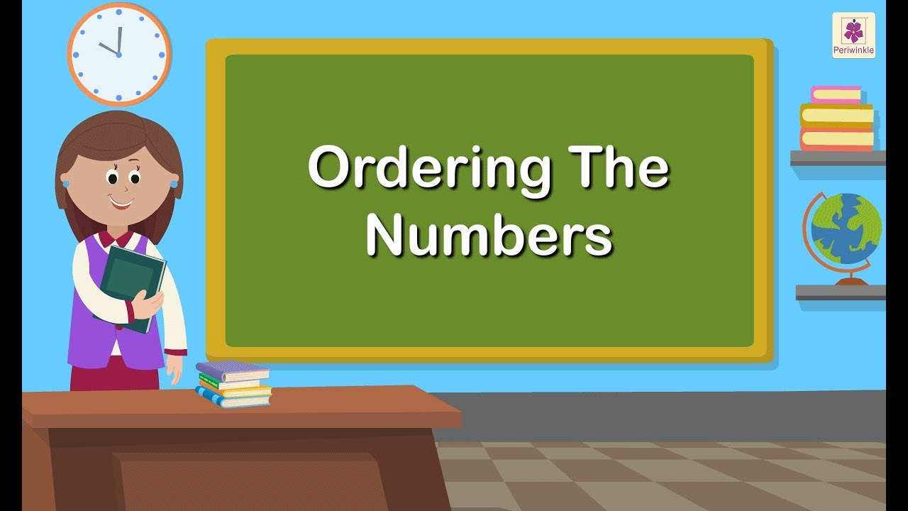 small resolution of Ordering The Numbers   Ascending \u0026 Descending Order For 8 \u0026 9 Digit Numbers    Periwinkle - YouTube