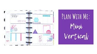 Plan With Me: MINI Vertical