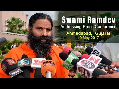 Press Conference: Swami Ramdev   Ahmedabad, Gujarat