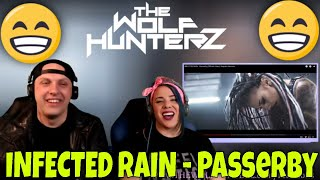 INFECTED RAIN - Passerby (Official Video)  Napalm Records | THE WOLF HUNTERZ Reactions