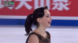 Елизавета Туктамышева Гран при Cup of China 2019 Произвольная программа