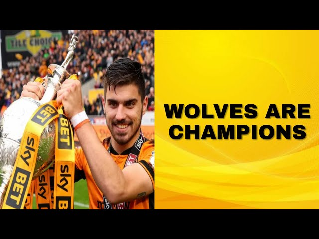 WOLVES ARE CHAMPIONS!!!