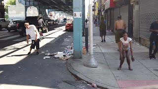 Philadelphia Kensington Avenue, What happened on Monday, June 28 2021.