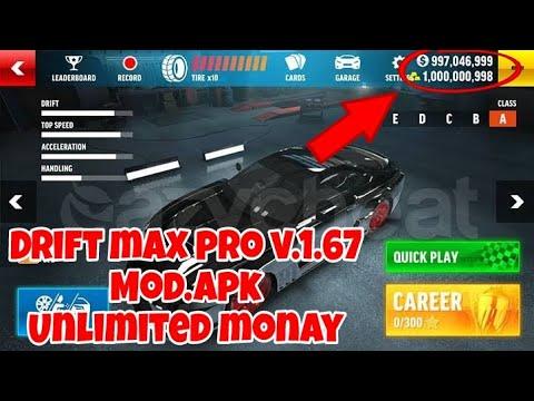 Unlimited monay, drift max pro v.1.67 mod apk terbaru unlimited monay 1