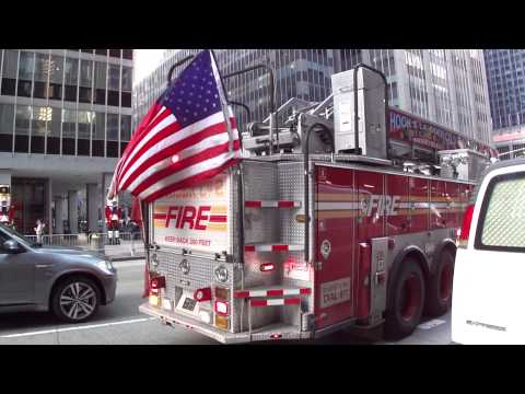 FDNY Ladder 2. Escalera 2 Bomberos de New York.