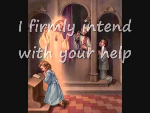 Act of Contrition Song