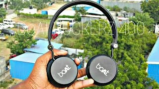 Best wireless Headphone under 2000 (2017) - BoAt ROCKERZ 400 Unboxing and Review