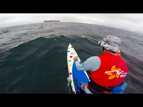 SUP Downwinder - Stanley Bay - SW Lamma Island - HK