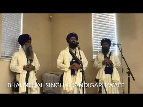 Bhai Mehal Singh Chandigarh Wale @ Gurudwara Sahib Roseville -2