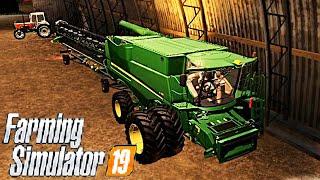 #48 - COMPRIAMO UNA NUOVA GRANDE MIETITREBBIA w/ROBYMEL81 -  FARMING SIMULATOR 19 ITA RUSTIC ACRES