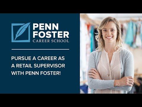 Online Retail Supervisor Training | Penn Foster Career School