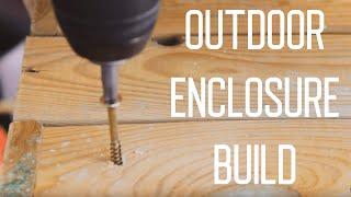 Building The Outdoor Tortoise Enclosure  | Vlog (Part 1)