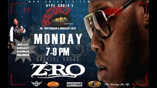 "PART 1: ZRO - ""...I WANNA BE ON A TRACK WITH JAY Z"""