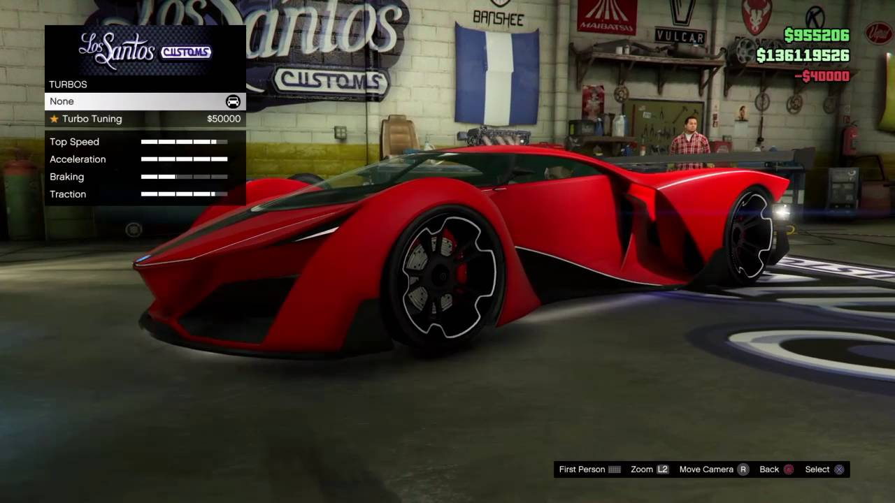 gta 5 new car dlc buying and customizing the x80 proto. Black Bedroom Furniture Sets. Home Design Ideas