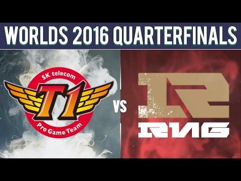 SKT vs RNG, Game 4 - Worlds 2016 Quarterfinal - SK Telecom T1 vs Royal Never Give Up