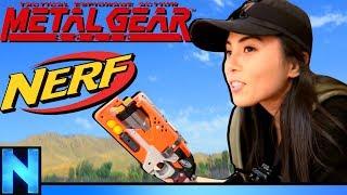 NERF Metal Gear Solid - Lady Snake ft. Anna Akana