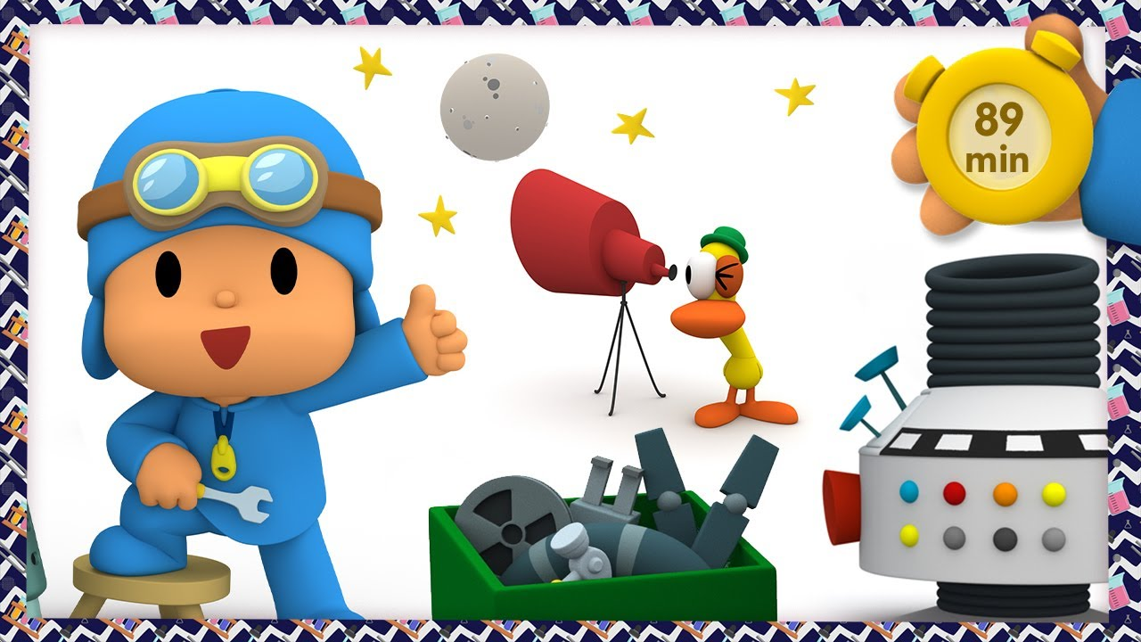 🔬 POCOYO AND NINA - The little scientist [89 min] | ANIMATED CARTOON for Children | FULL episodes