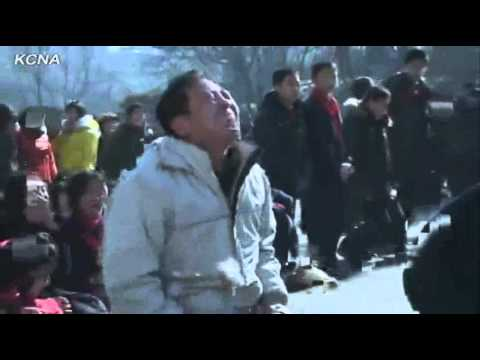 North Koreans' Reaction to Kim Jong-il's Death -  Crying Operation P.2