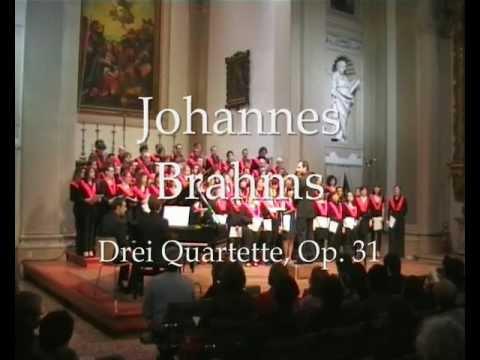 Johannes Brahms - Drei Quartette Op 31