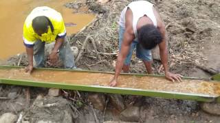 Gold mining in PNG