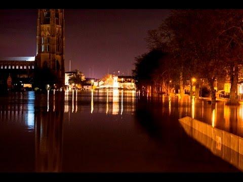Flooding in Boston UK on 5th December 2013