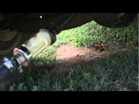 Quick and easy way to drain gas tank