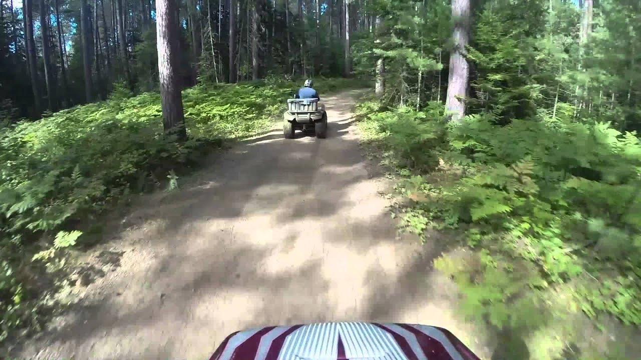 Flagstaff Me Atv Trail Last Few Miles Youtube