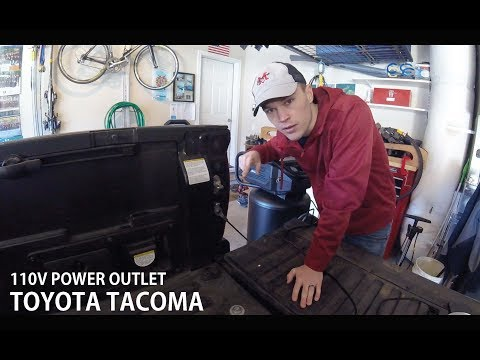 Using The Tacoma 110V Bed Outlet