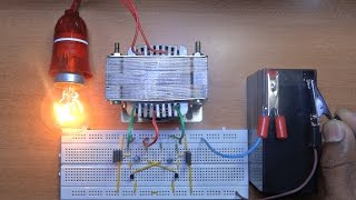 Repeat youtube video How To Make A Inverter 12v to 220v?