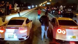 $20,000 - 2 Runs... Porsche 911 Turbo VS Nissan GTR