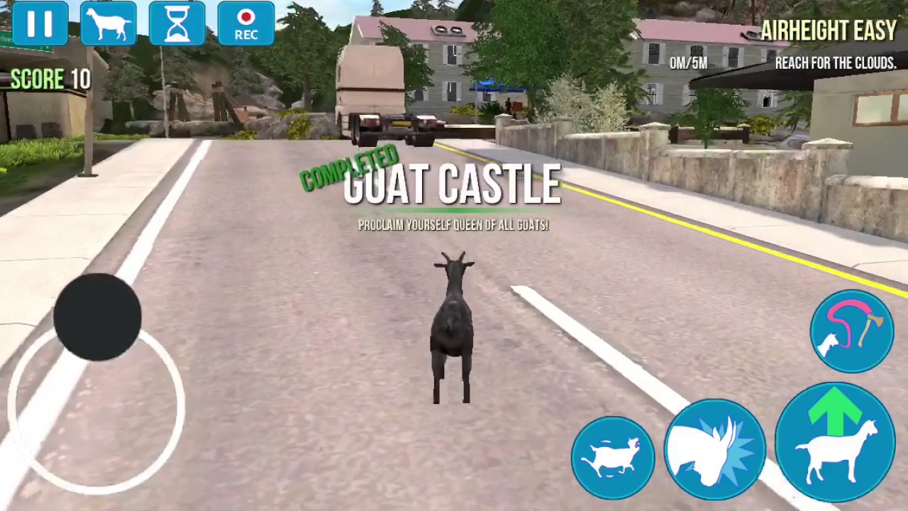 How To Get Evil Goat In Goat Simulator Youtube
