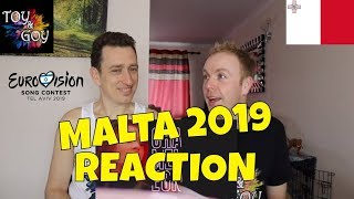Malta Eurovision 2019 Reaction - Review - Michela - Chameleon