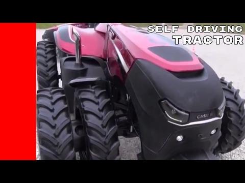 Autonomous Self Driving Tractor Concept Debut