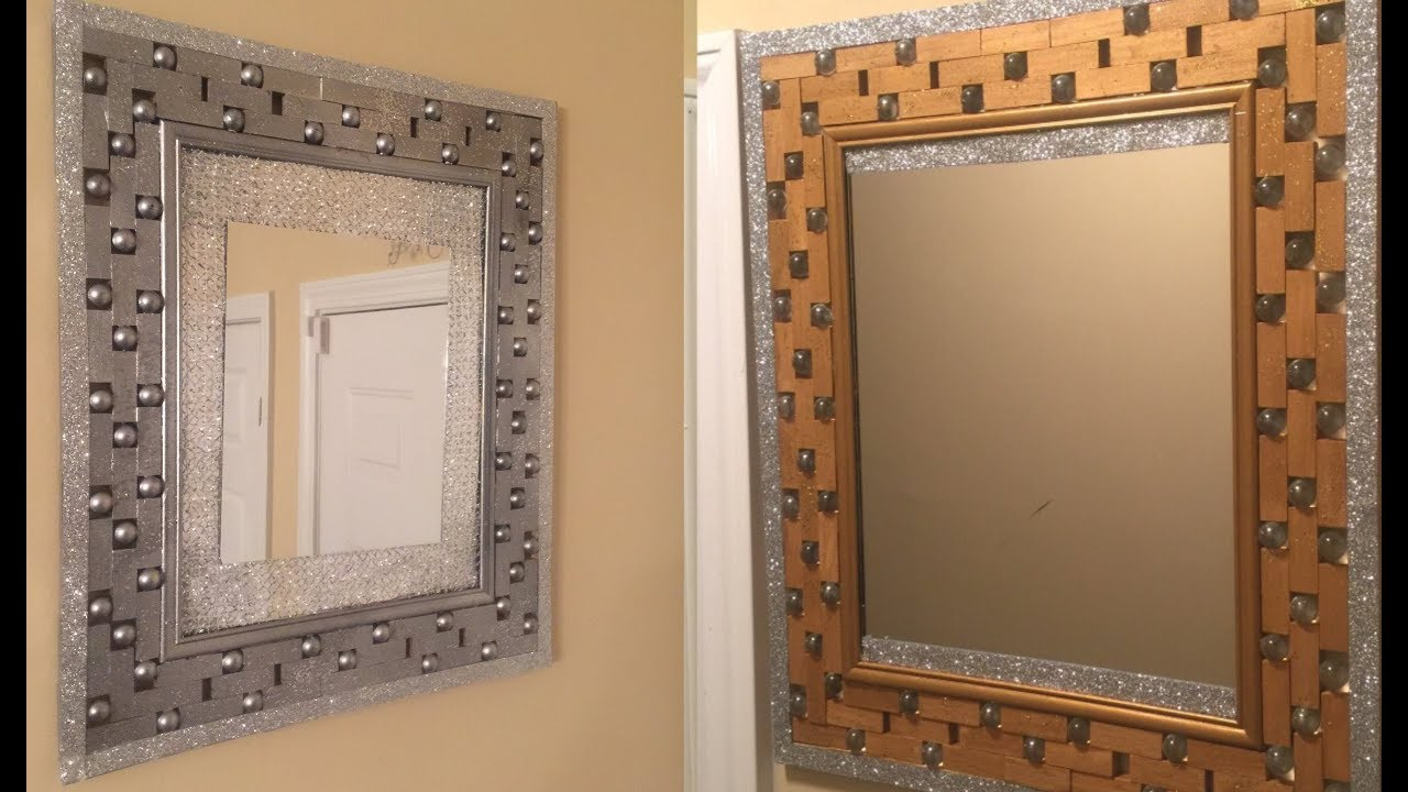 Gold Metal Wall Mirror: 💕 Antique Gold/ Silver Wall Mirror