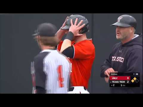 Texas Tech Baseball Vs. UNLV: Highlights (W, 11-2) | 3.3.2020