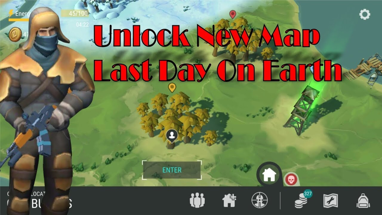 Unlock New Map | Last Day On Earth   YouTube